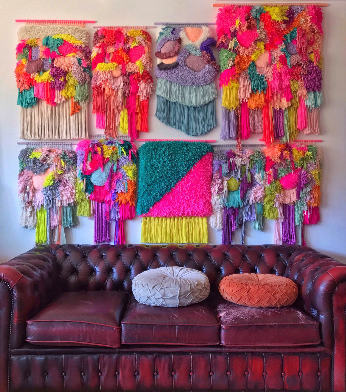 9 Etsy Shops For Incredible, Modern Textile Wall Art
