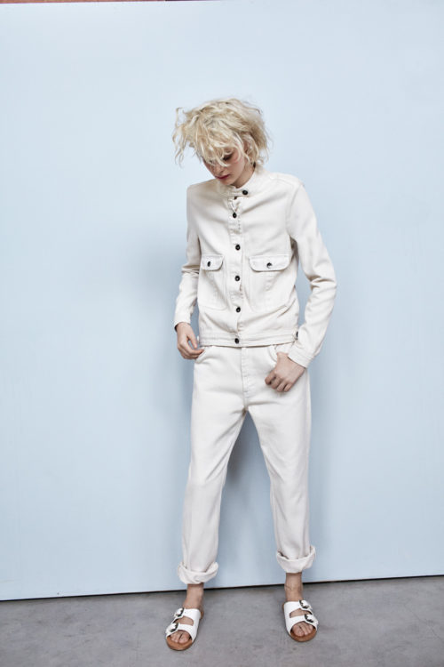 Rabens Saloner white denim