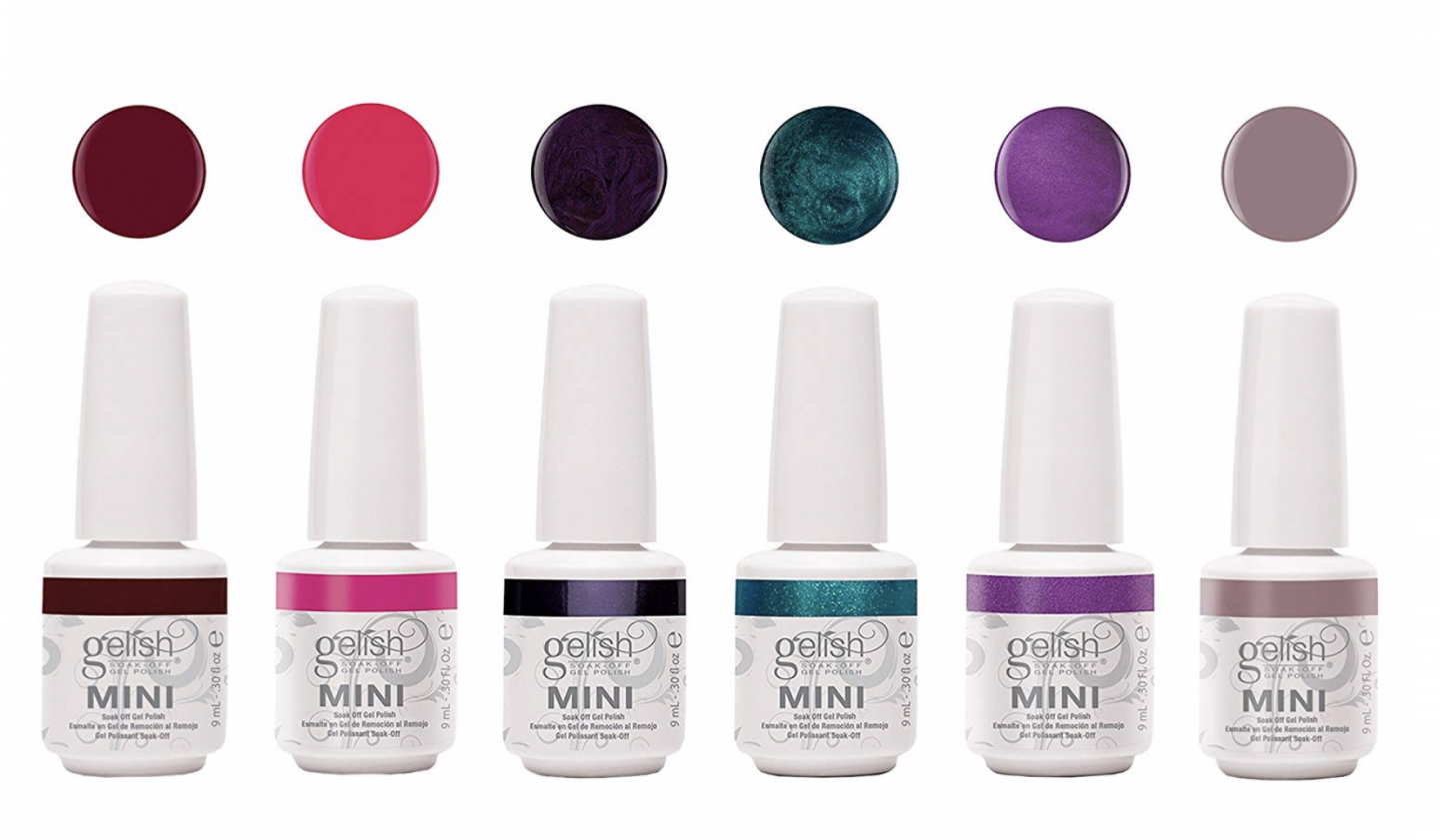 gel mani nail polish mini set Gelish