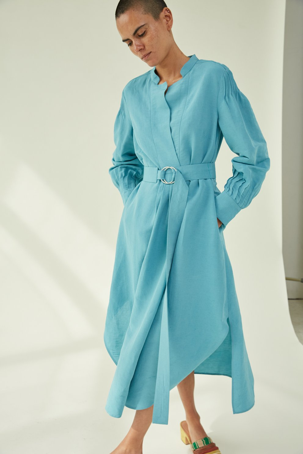 Rachel Comey blue Allium dress