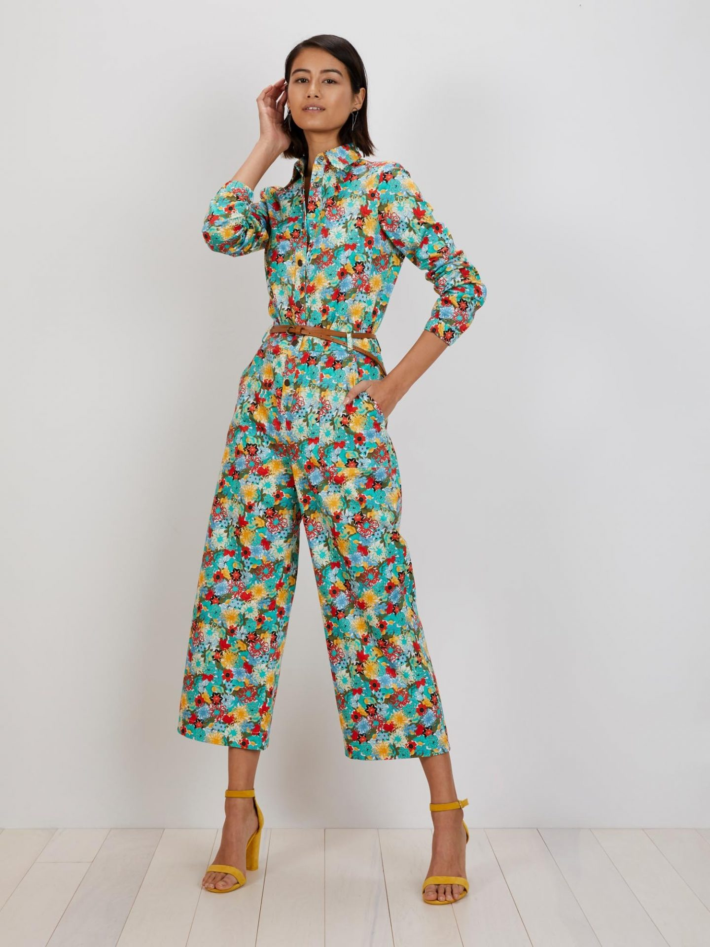 The Kit Alex floral jumpsuit