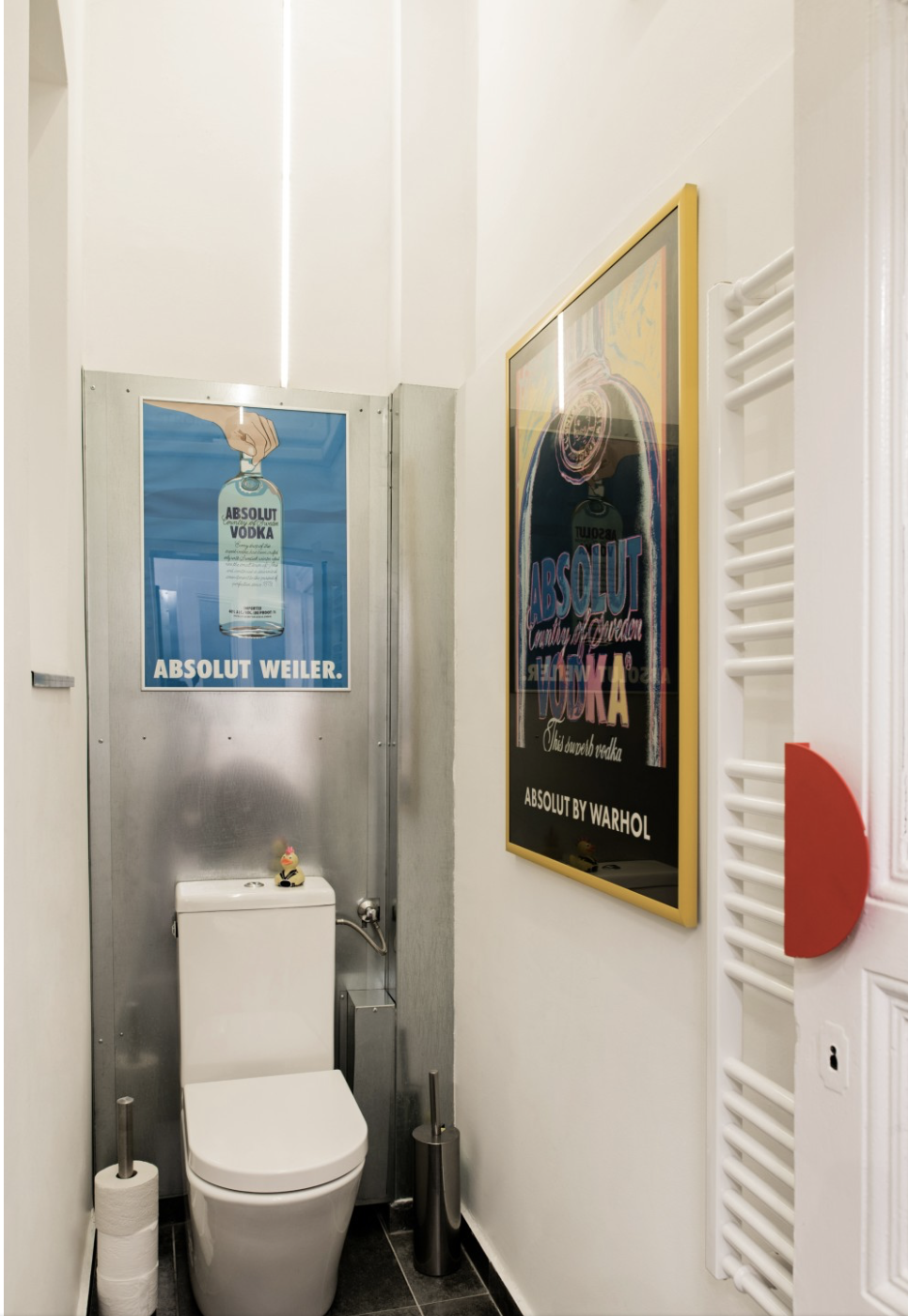 small bathroom framed posters