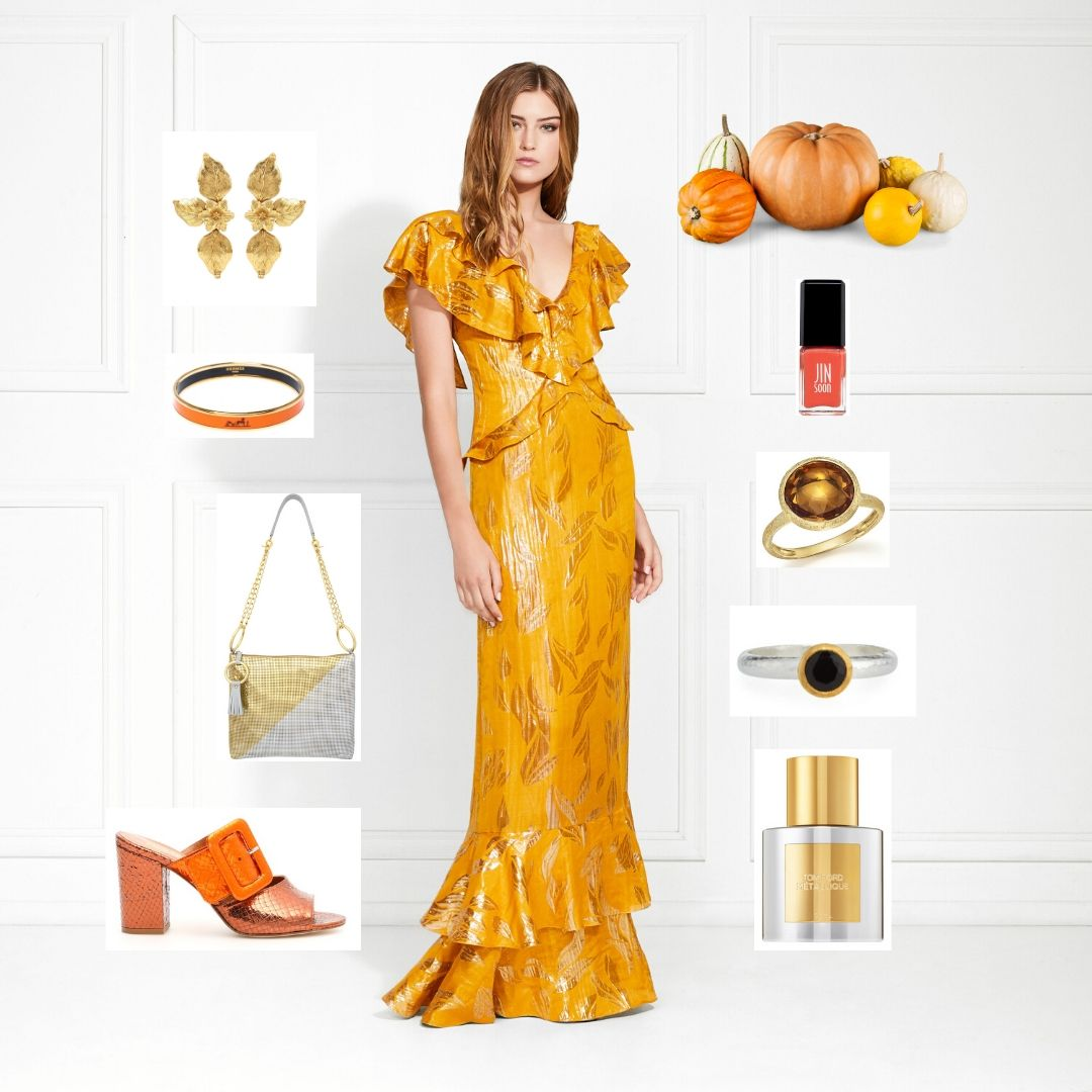 fall dress formal outfit