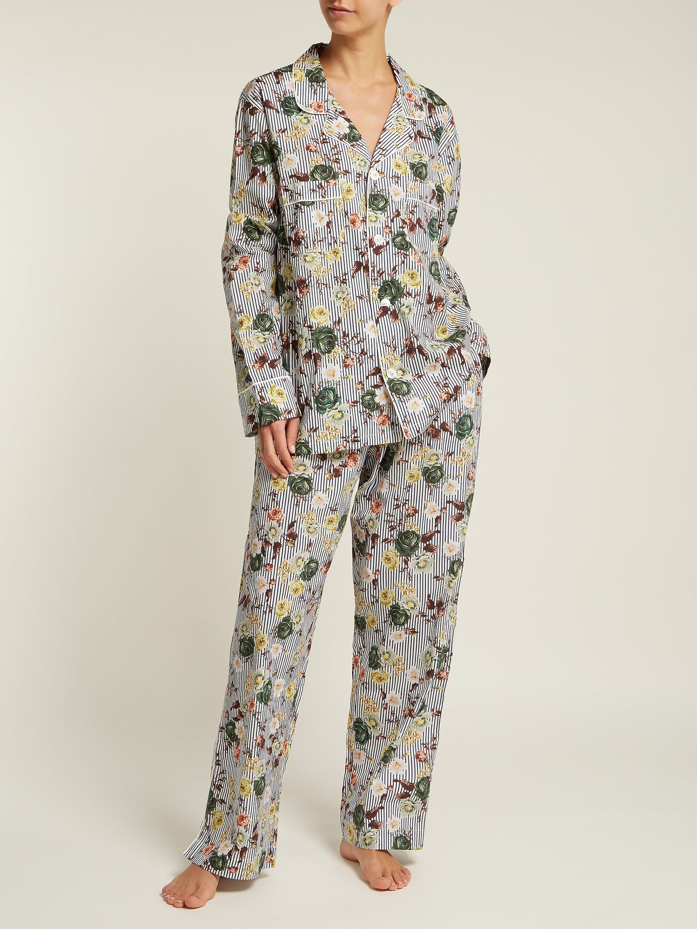 Erdem cotton pajamas