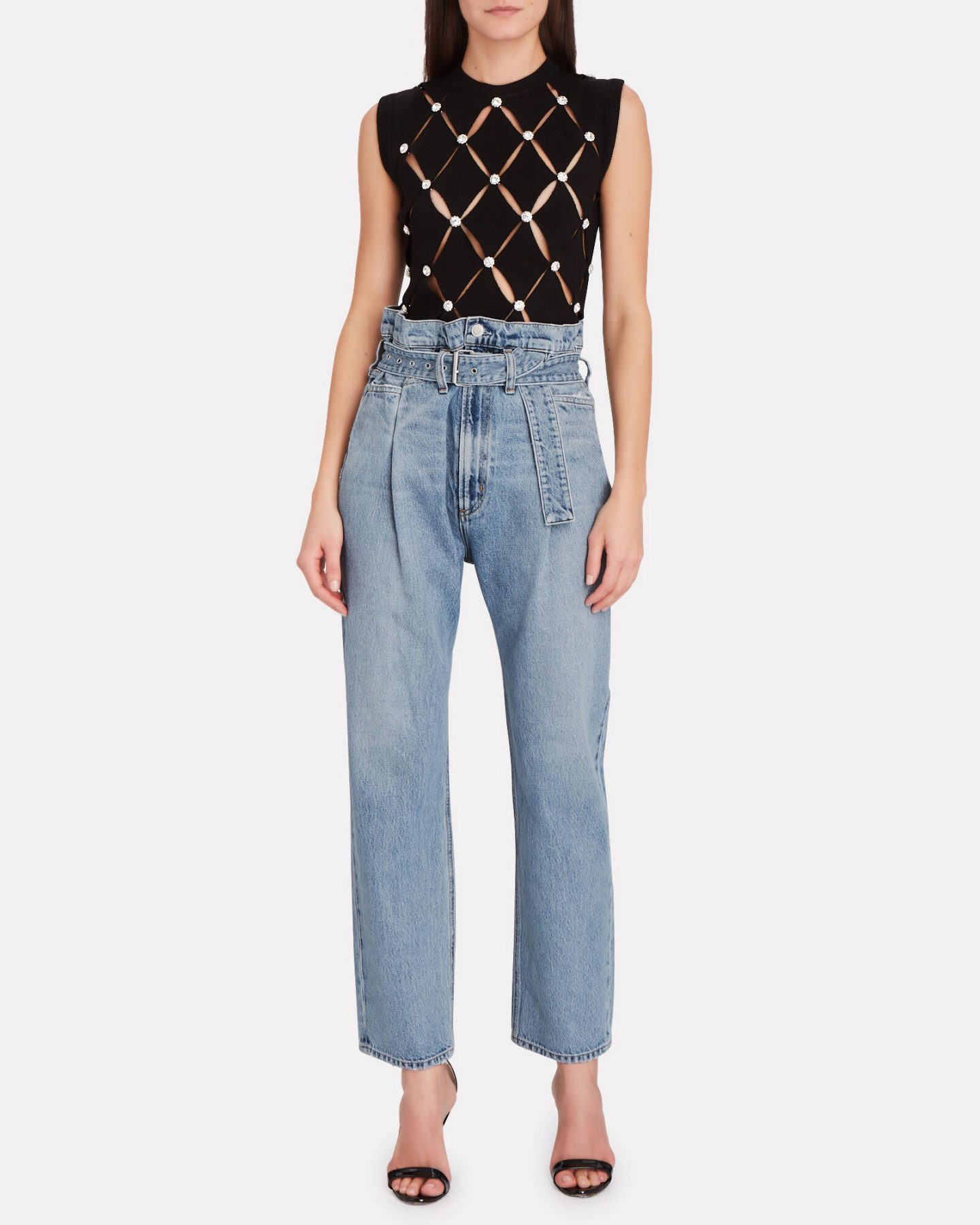 Agolde pleated jeans
