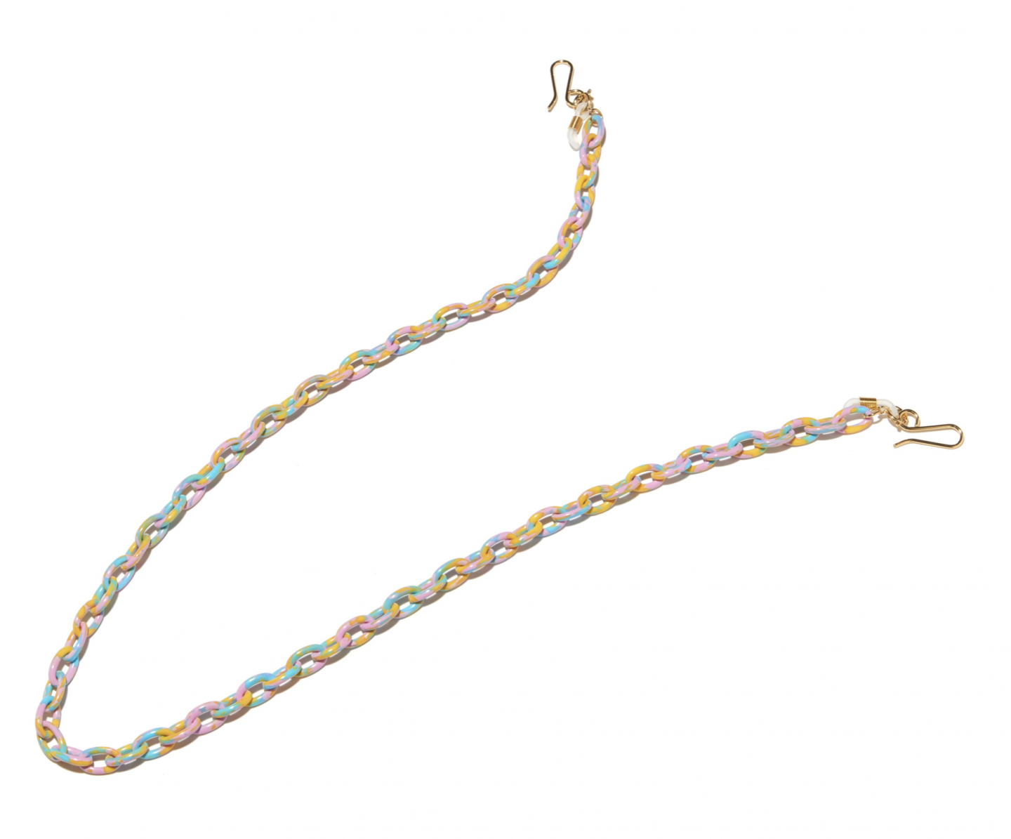 colorful eyeglass chain