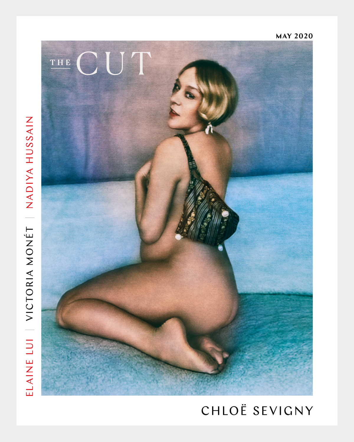 Chloë Sevigny The Cut cover May 2020