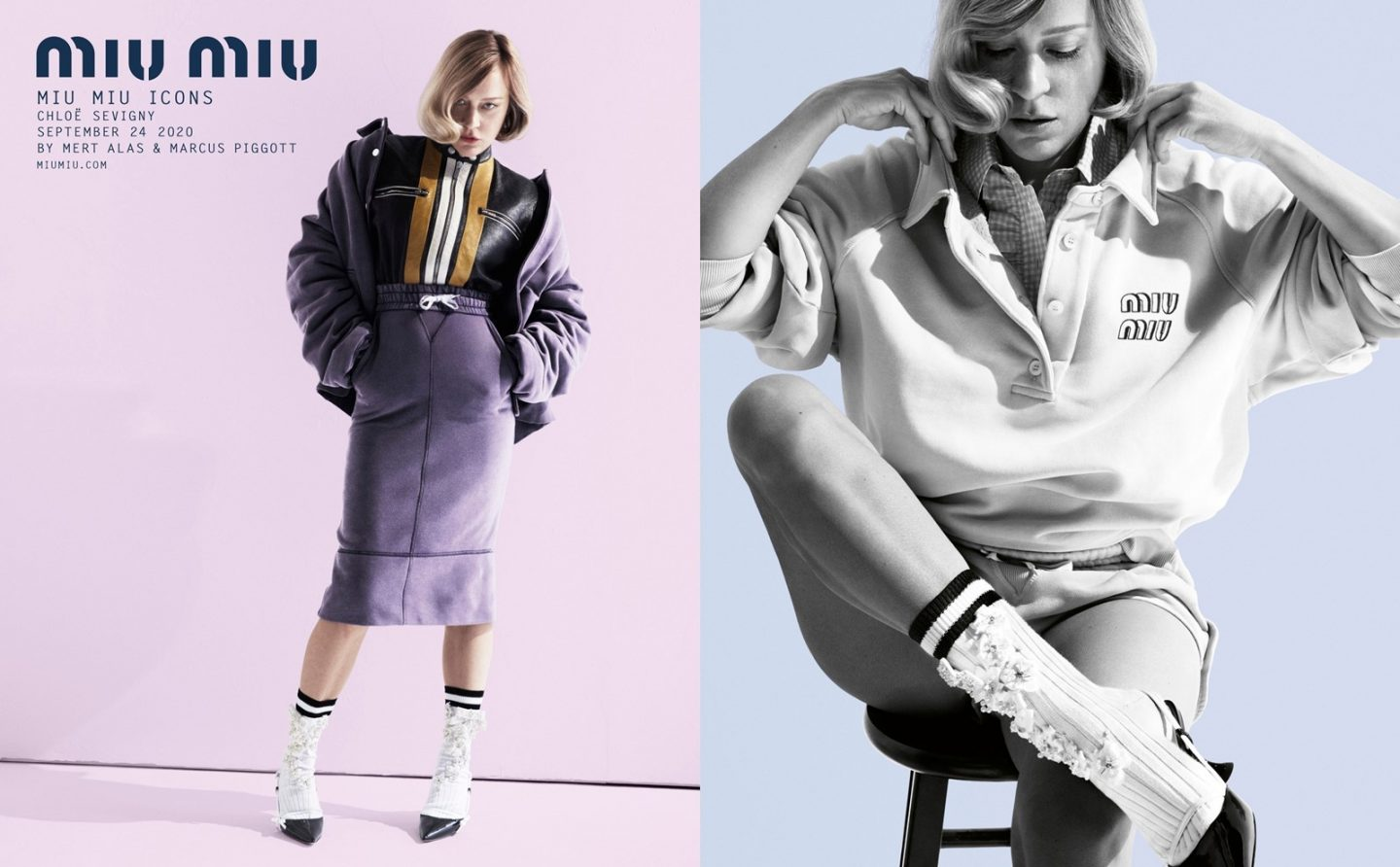 Chloe Sevigny for Miu Miu icons