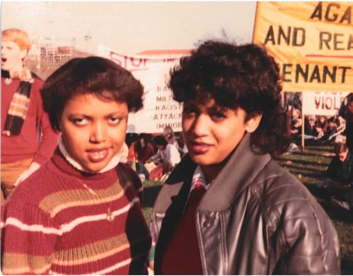 Kamala Harris in the '80s